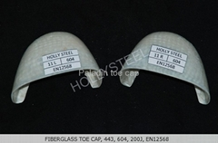 plastic toe cap  for safety shoes