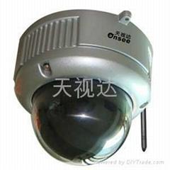 天视达无线网络智能防暴半球摄像机