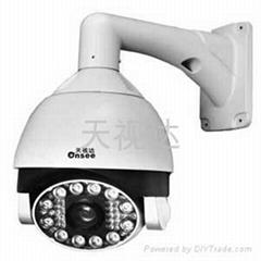 天视达红外智能高速球网络摄像机