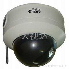 无线防暴半球网络摄像机