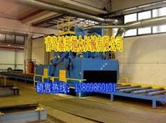 青岛单双吊钩式抛丸清理机械铸造