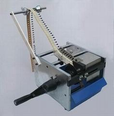 手搖帶式單邊元件切腳機