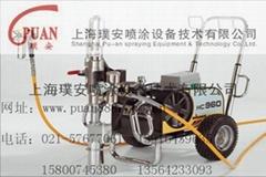上海高压无气喷涂机
