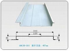 合肥金苏供应各种规格彩涂屋面板
