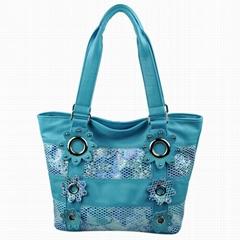 蓝色时尚女包 C90064