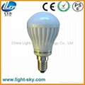 commercial lighting E14 E17 E12 E11 LED globe bulb 3W