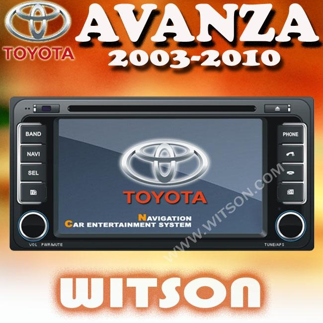 WITSON Car DVD Player With GPS For TOYOTA AVANZA (2003-2010) - W2