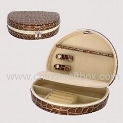 皮革首飾盒