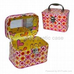 PVC 化妆箱皮革化妆箱