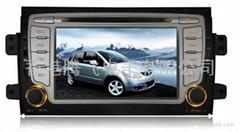 铃木SX4车载DVD带GPS,蓝牙,双区,方向盘控制