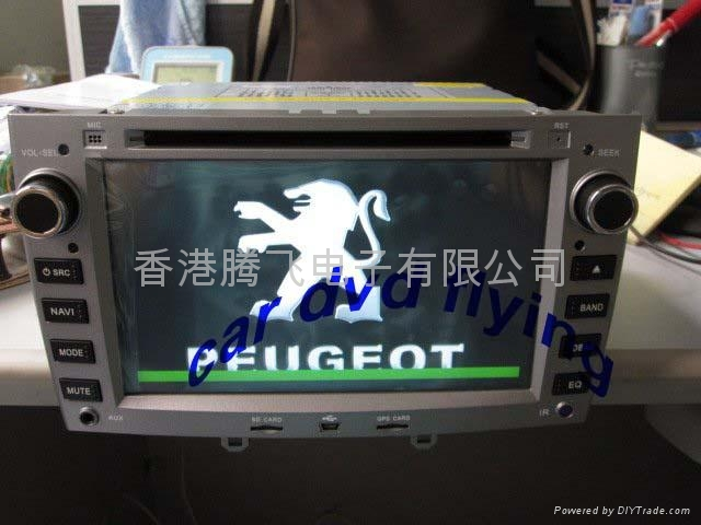 peugeot 308/408 car dvd player with Bluetooth-GPS 2