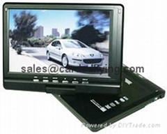 "12.3"" portable DVD PLAYER with AnalogTV DVB-T Game"