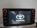 Toyota old corolla,VIOS car DVD player with gps,steering wheel control