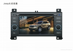JEEP Grand Cherokee 2011 car DVD player with gps,steering wheel control (Hot Product - 1*)