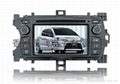 Toyota YARIS 2012 car DVD player with