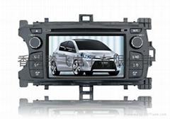丰田雅力士2012专用车载DVD带GPS,RDS,蓝牙