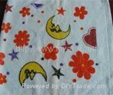 纯棉印花童巾