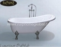 simple bathtub,acrylic bathtub