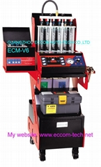 injector test and clean machine ECM-V6