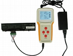 protable universal laptop battery tester with test charge discharge funcntion