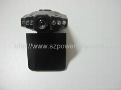 Car DVR Camera with 6 IR LED and 90