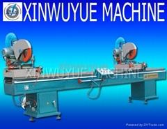 pvc window machine double mitre saw
