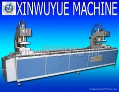 pvc window machine two head welding machine