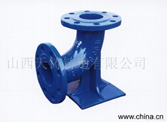 ductile iron pipe fittings-flanged series