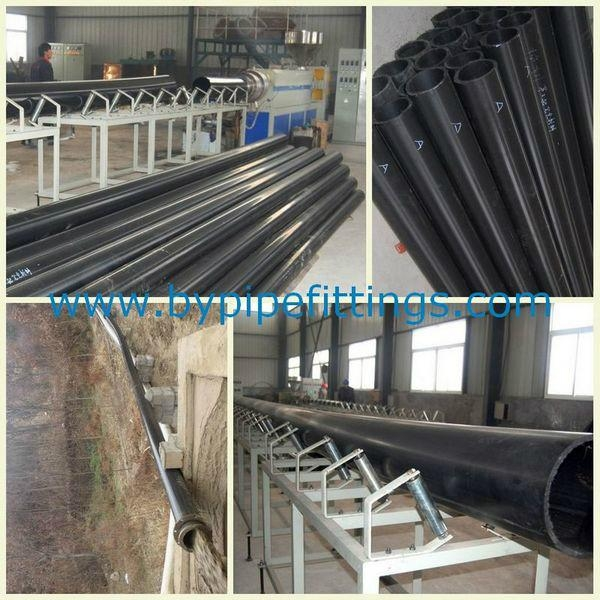 Tailings disposal pipeline made of UHMW PE  2