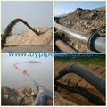 Tailings disposal pipeline made of UHMW PE  3