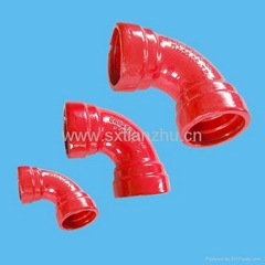 DI PIPE FITTINGS FOR PVC-double sochet bend