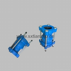 Dctile iron pipe fittings -flanged couplings-dismantling jiont