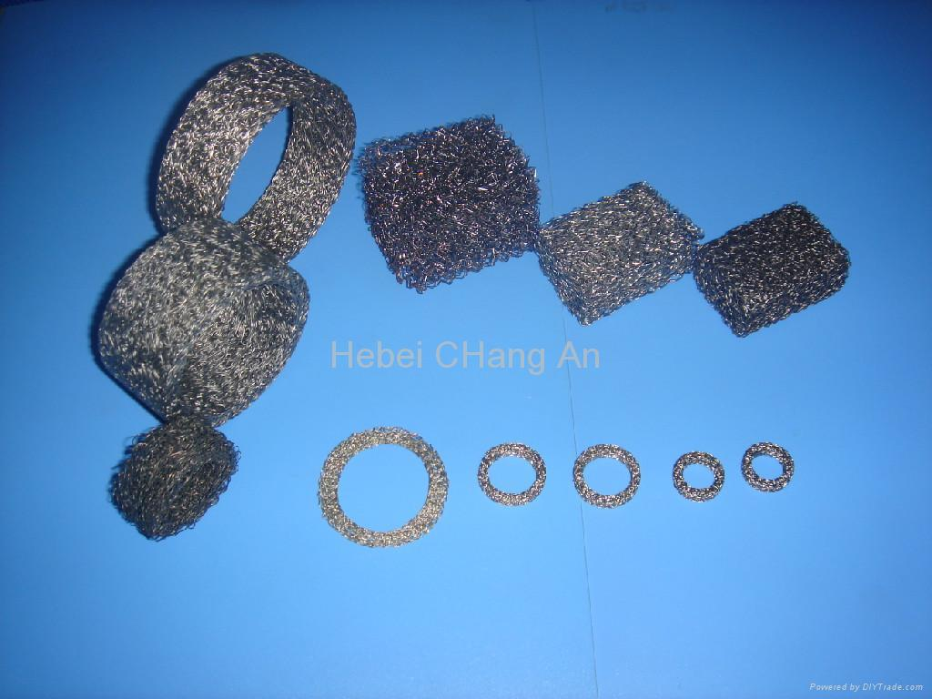 Knitted Wire Mesh Gaskets - Chang An (China Manufacturer) - Car ...