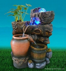 home ornament. water fountian , ployresin artcrafts, home humidifier