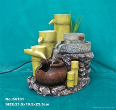 home water fountain,garden adornment , ployresin artcrafts, home humidifier,