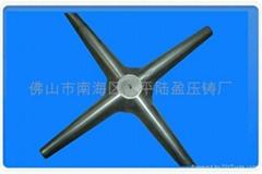 供應鋁合金辦公椅傢具壓鑄配件