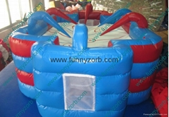 Inflatable Air Hockey