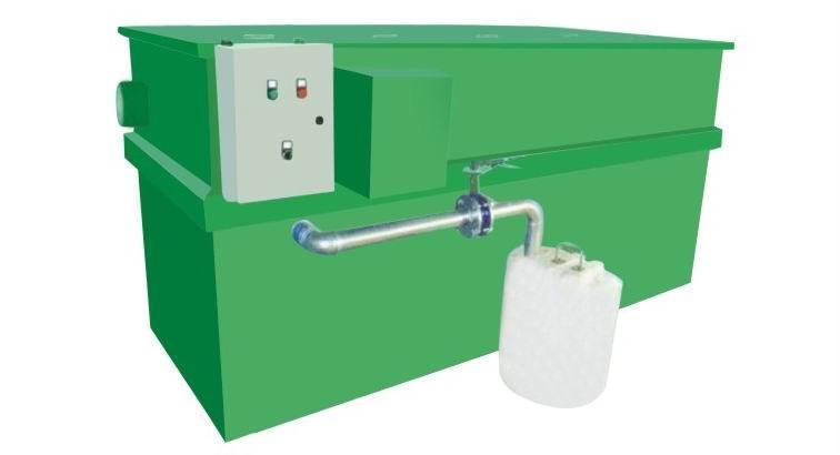 供應廣州石基氣浮自動刮油隔油器 1