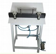Pneumatic finishing machine for photo album