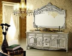 Antique classic bathroom cabinet