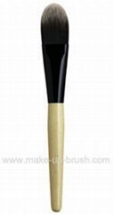 makeup brush-foundation brush
