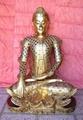 Sitting Buddha statue 1