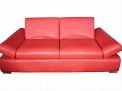 Leather sofa ls122