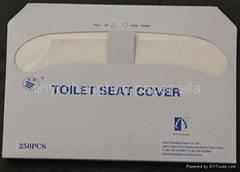 toilet seat -flushable wood pulp paper