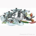 12pcs Stainless Steel Cookware set
