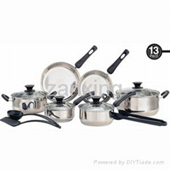 13pcs Stainless Steel Cookware set