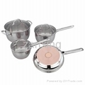 7pcs Stainless Steel Cookware Set