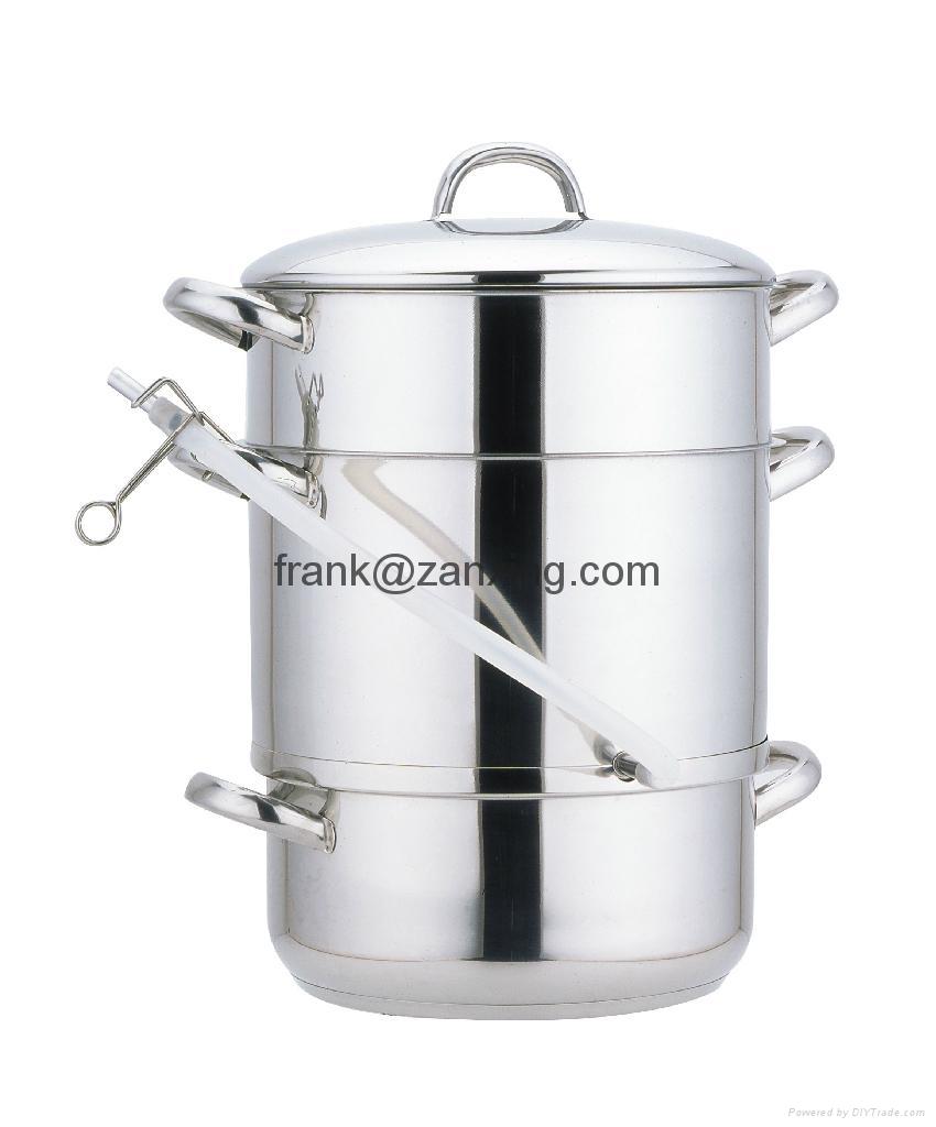 fruit juice steamer pot zx jp0401 china manufacturer. Black Bedroom Furniture Sets. Home Design Ideas