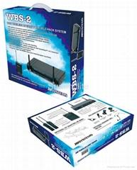 Microphone JBSYSTEMS wireless set WBS-2