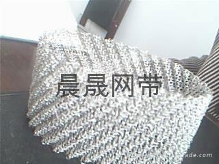 汽液過濾網針織金屬絲網篩網 1